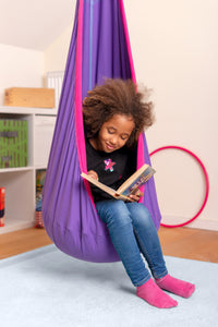 Joki Lilly - Organic Cotton Kids Hanging Nest with Suspension