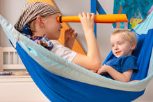 Load image into Gallery viewer, Moki Dolphy - Organic Cotton Kids Hammock with Suspension