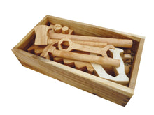 Load image into Gallery viewer, Natural Wooden Tool Set