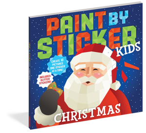 Paint by Sticker: Christmas