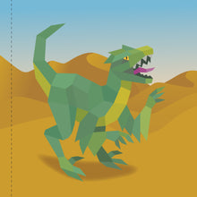 Load image into Gallery viewer, Paint by Sticker: Dinosaurs