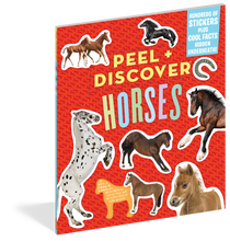 Load image into Gallery viewer, Peel + Discover: Horses