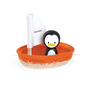 Sailboat with Penguin