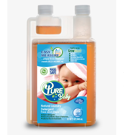Pure Baby 100% Natural Laundry Detergent