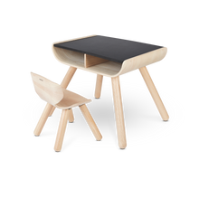 Load image into Gallery viewer, Table & Chair - Black