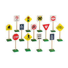Load image into Gallery viewer, Traffic Signs - 13 Piece Set