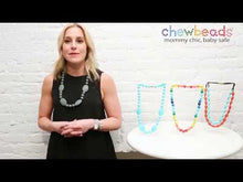 Load and play video in Gallery viewer, Chewbeads Hudson Teething Necklace