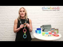 Load and play video in Gallery viewer, CB GO by Chewbeads Baby Silicone Links