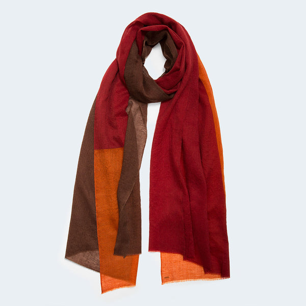 Sama Color Block Scarf