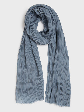 Tussar Silk & Cashmere Scarf by From The Road | DARA Artisans
