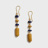 Yellow Jasper and Sodalite Earring