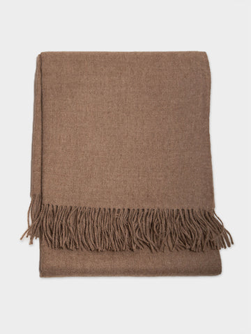 Beige Day Throw
