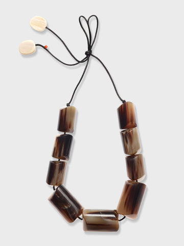 Chunky Horn Necklace by CATHs | DARA Artisans