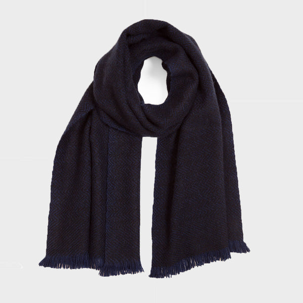 Night Sky Yak Nomad Herring Scarf