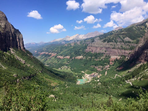 MTB and Mountain Top Lake Hikes: Telluride 8.16