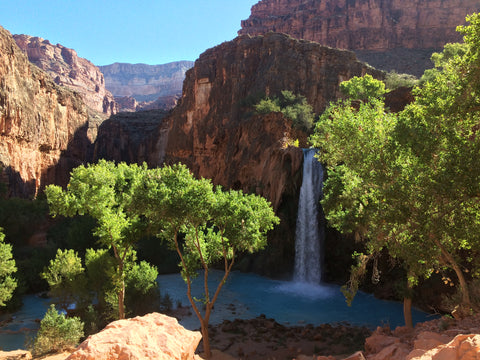 Backpacking Havasupai - October 2016