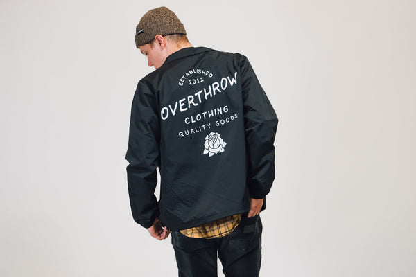 Script Windbreaker - Overthrow Clothing  - 4
