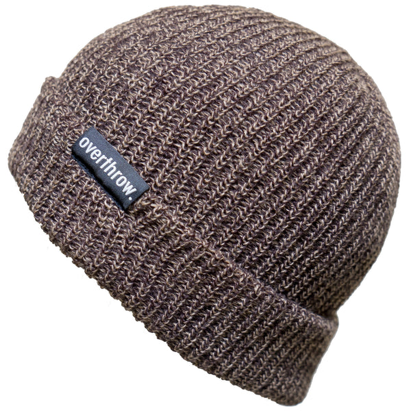 Scoundrel Beanie in Maple Marl - Overthrow Clothing  - 1