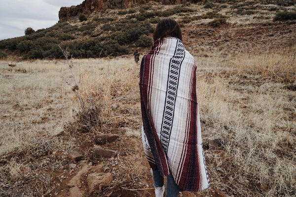 Southwestern Blanket - Overthrow Clothing  - 3