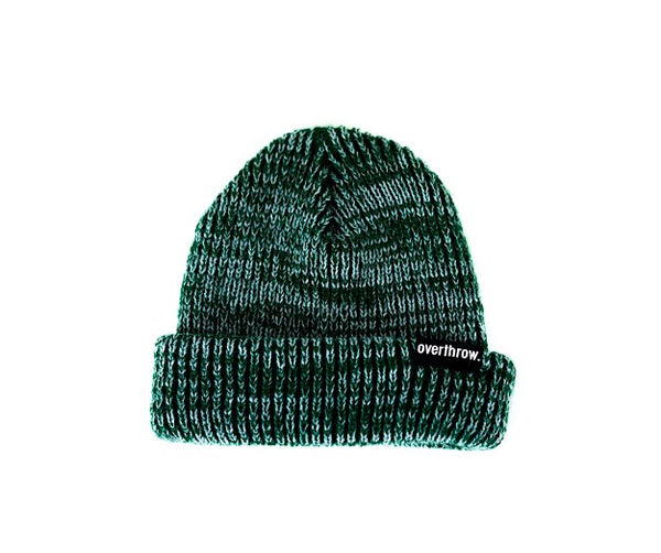 Scoundrel Beanie in Forest Marl - Overthrow Clothing  - 2