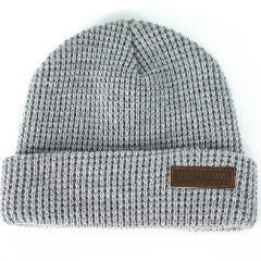 Belgians Beanie in Heather Grey - Overthrow Clothing  - 2