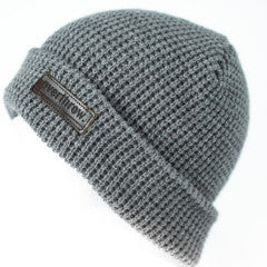 Belgians Beanie in Heather Grey - Overthrow Clothing  - 1