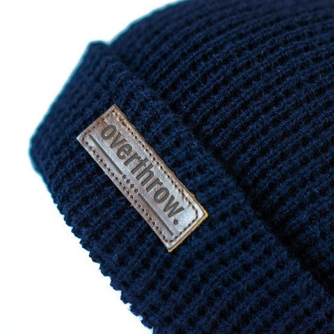 Belgians Beanie in Midnight - Overthrow Clothing  - 3