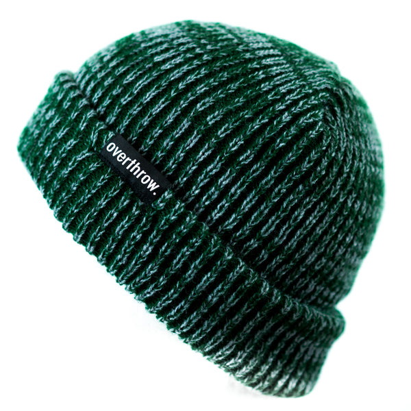 Scoundrel Beanie in Forest Marl - Overthrow Clothing  - 1