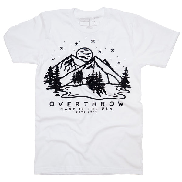 Tree Line Tee - Overthrow Clothing  - 2
