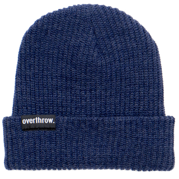 Scoundrel Beanie in Cobalt - Overthrow Clothing  - 2