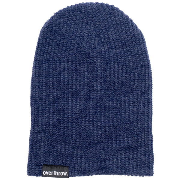 Scoundrel Beanie in Cobalt - Overthrow Clothing  - 3