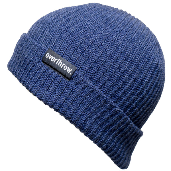 Scoundrel Beanie in Cobalt - Overthrow Clothing  - 1
