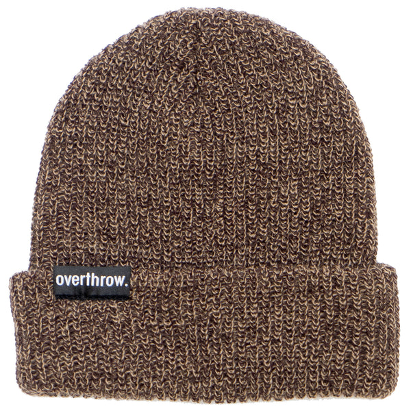 Scoundrel Beanie in Maple Marl - Overthrow Clothing  - 2