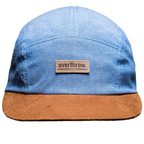 Oswego Camp Hat in Blue Bird - Overthrow Clothing  - 1