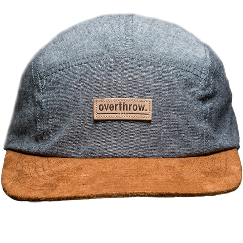 Oswego Camp Hat in Storm - Overthrow Clothing  - 1