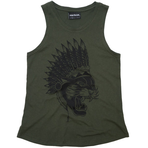 Temptress Tank - Overthrow Clothing  - 1