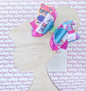 School Doll Bow