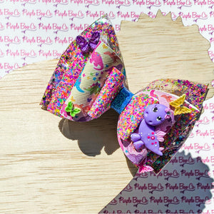 Dino Butterfly Bow