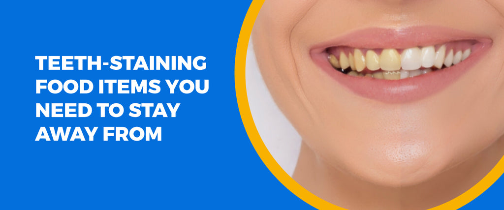 Teeth-Staining Food Items You Need To Stay Away From