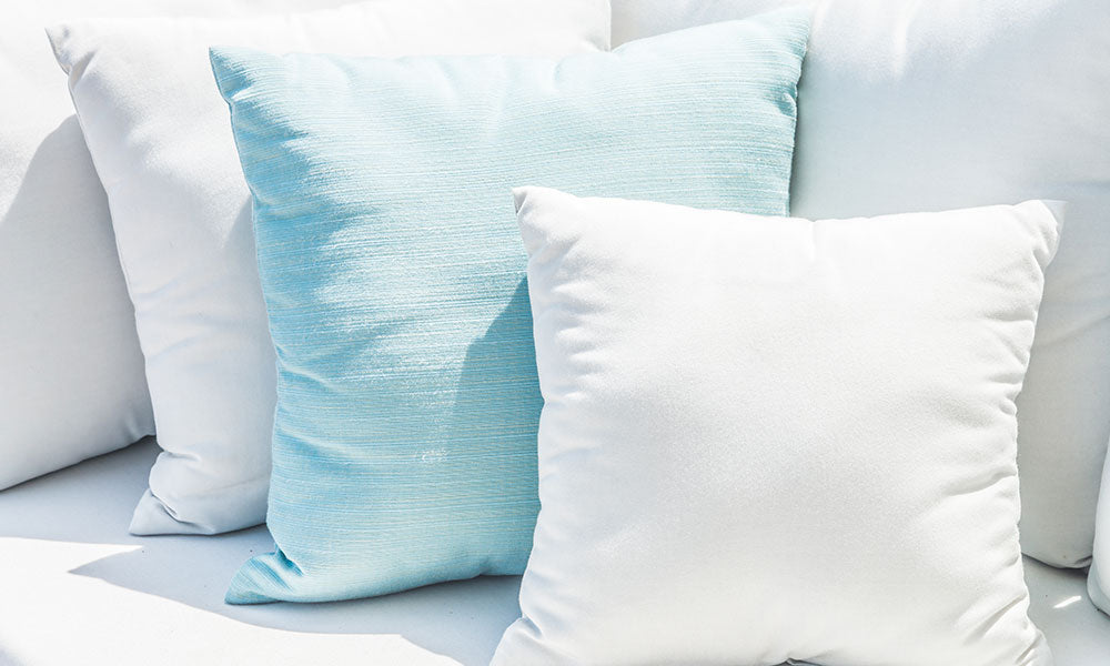Use LOADS of Pillows!