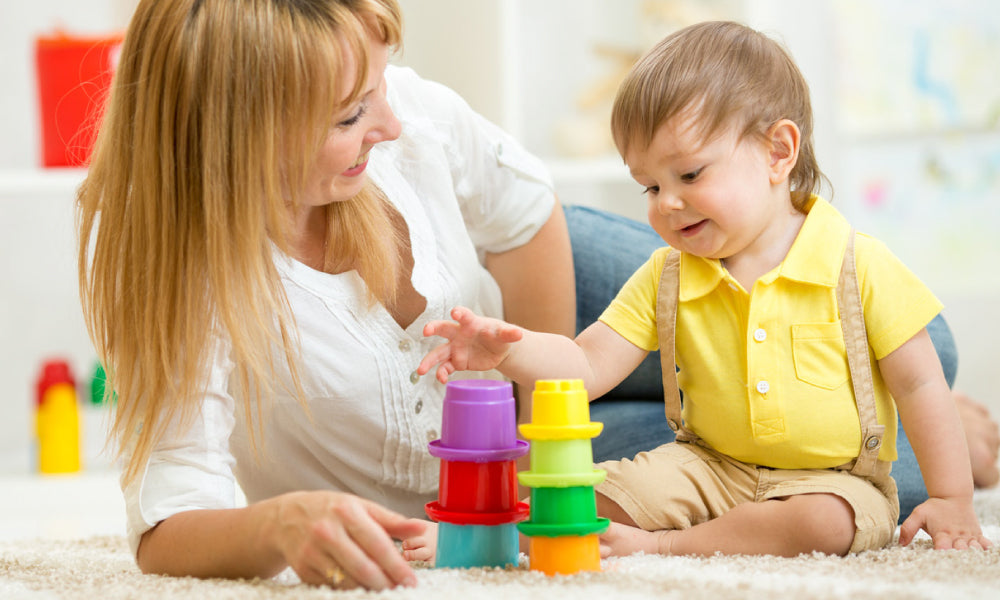Plan some mom-and-baby activities together