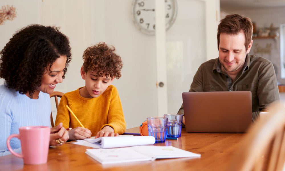 What will the kids do at home without going to school?