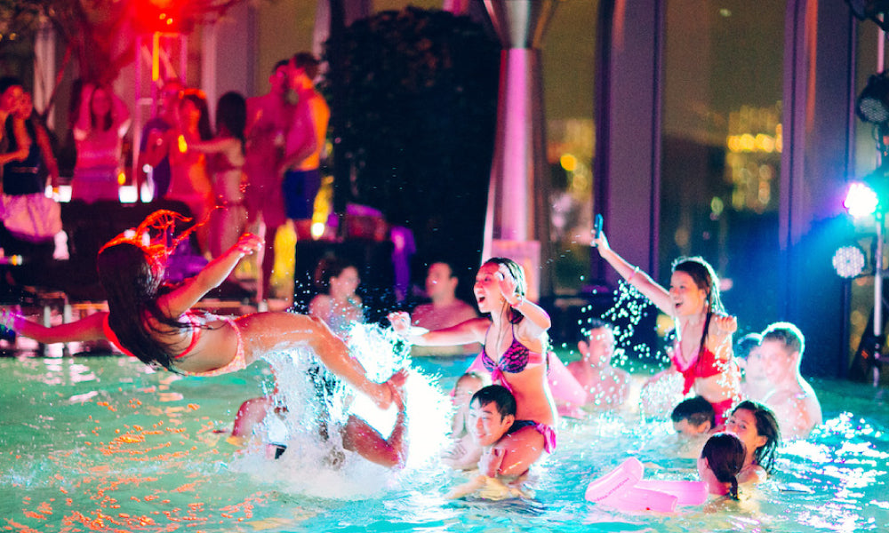 Think Night Pool Party