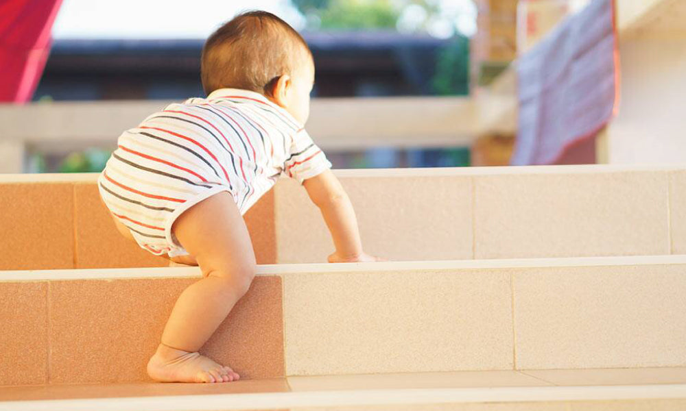 Let Your Little One Climb Stairs