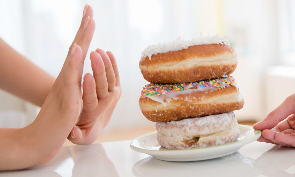 Don't eat sugary foods