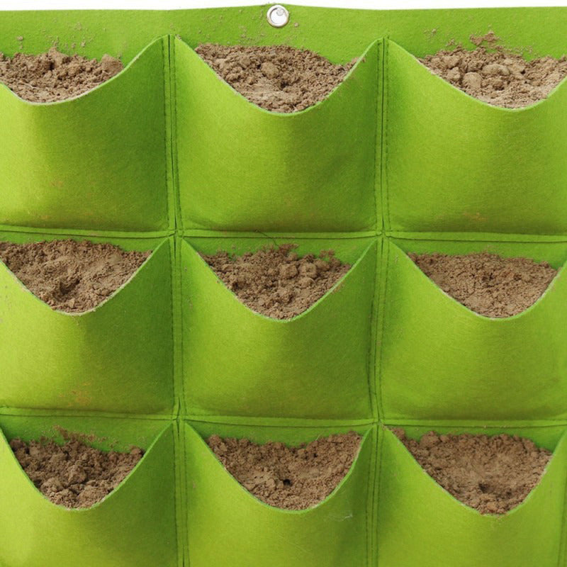 Green Graw-Greenpockets Garden Grow Bag Wall Panels