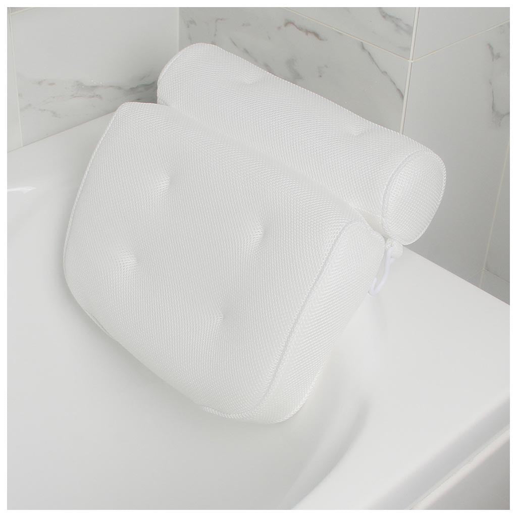 Breathable 3D Mesh Spa Bath Pillow