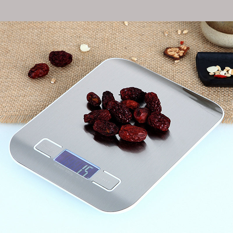 LCD Digital Electronic Measuring Kitchen Scale Tool