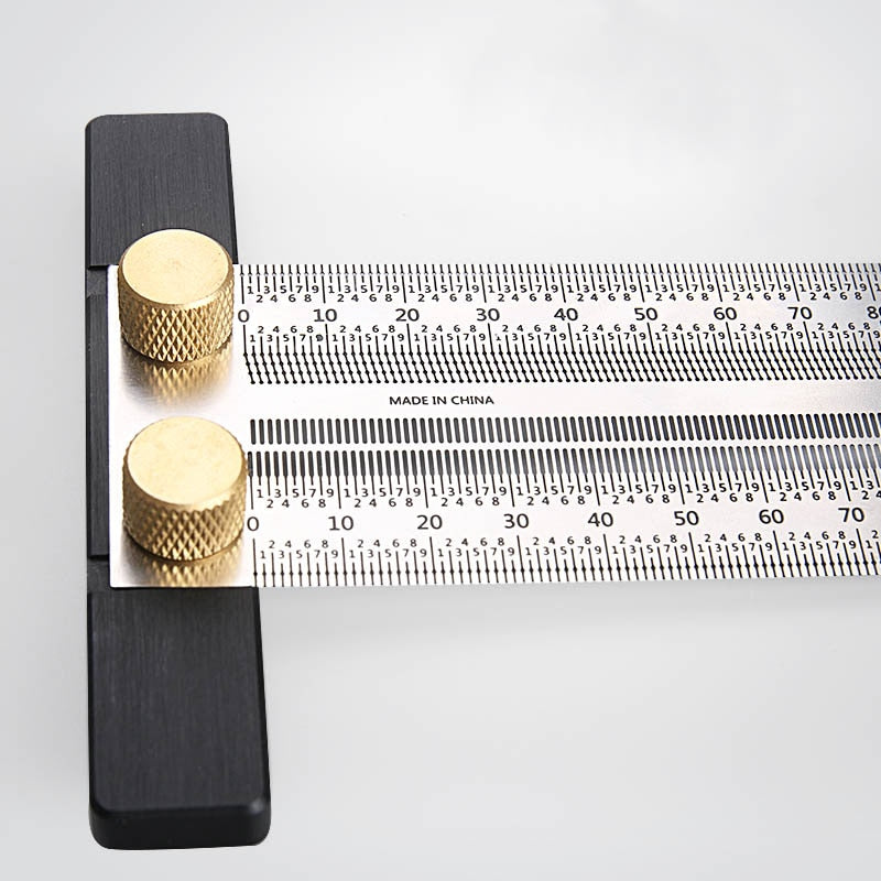 Rulgam-Ultra Precision T-type Woodworking Ruler