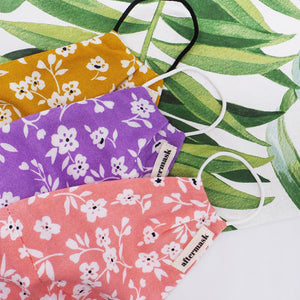 Pack of 3 Floral Prints